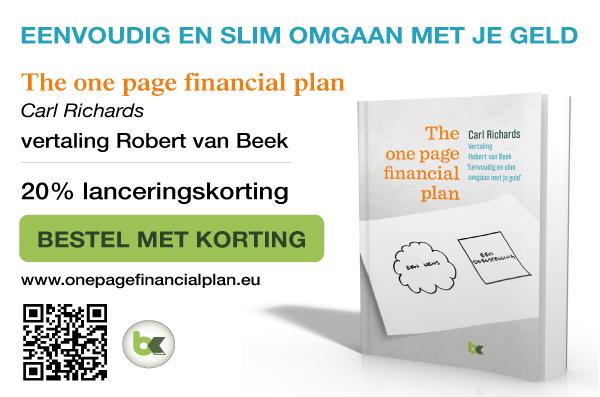 The one page financial plan, Nederlandse editie.